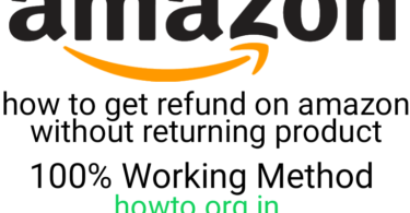How to get refund without returning product on amazon