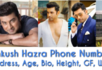 Ankush Hazra Phone Number, Address, Wife, GF