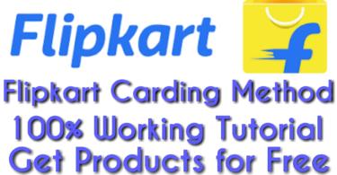 Flipkart carding trick & method