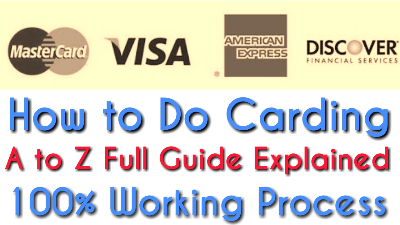 How to Do Carding A to Z Full Guide Explained 100% Working