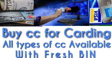 Buy cc for carding
