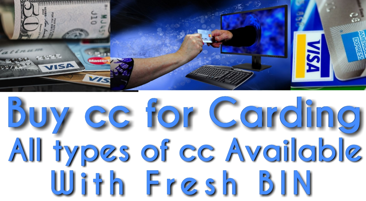 Buy CC for Carding Available All Types of Cards with Fresh BIN