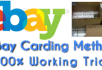 New Ebay carding method and trick