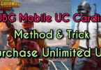 Pubg mobile uc carding method