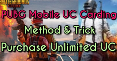 Pubg mobile uc carding method