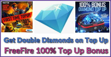 Free fire double diamond topup trick