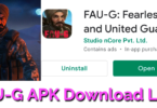 FAUG APK Download LInk