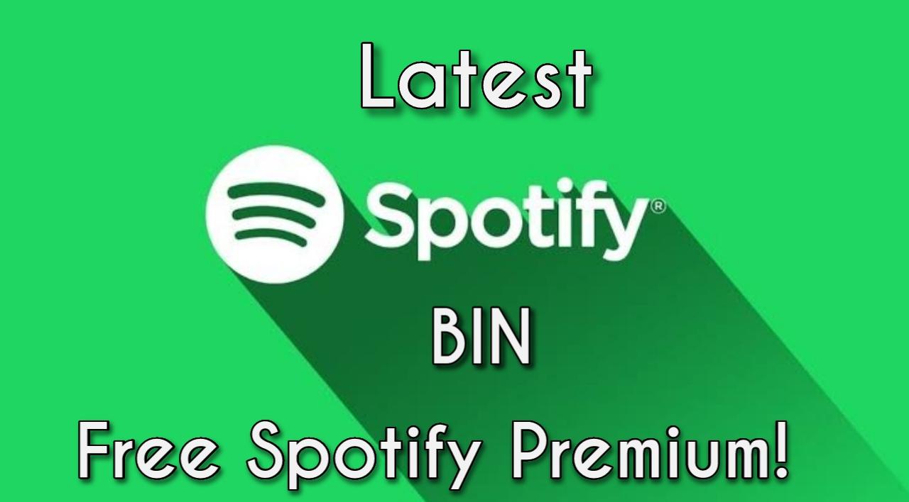 Spotify BIN
