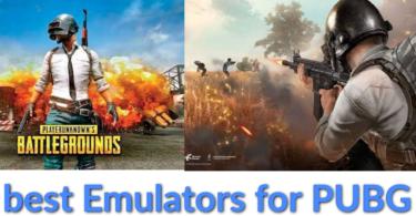 Best emulators for pubg mobile