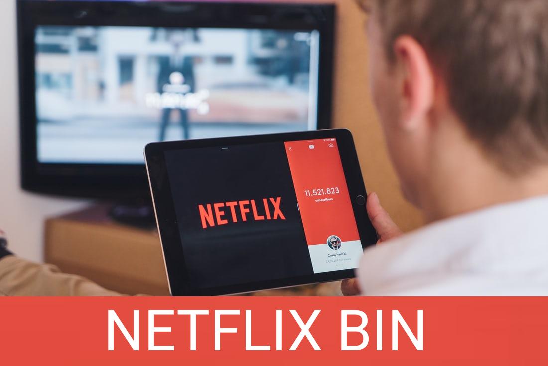 Netflix bin for free Netflix account