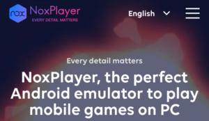Noxplayer emulator