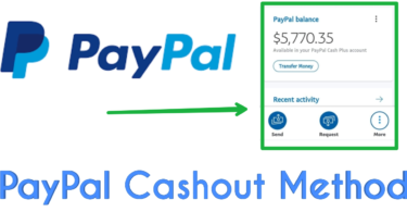 paypal cashout method